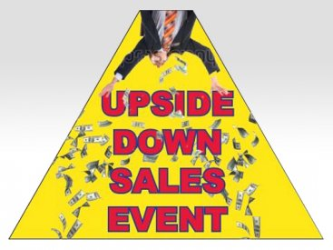 Upside Down Sales Event