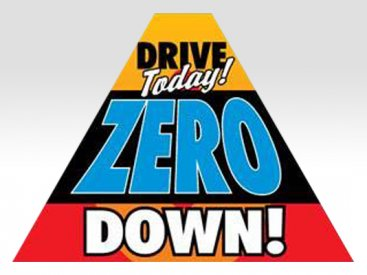 Drive Today Zero Down